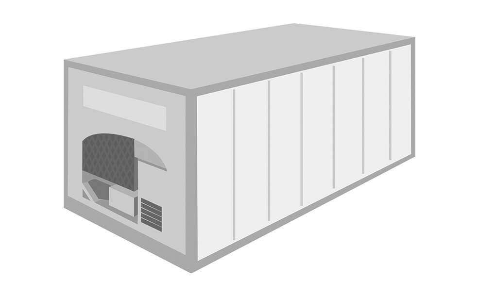 リーファコンテナ / 冷凍コンテナ